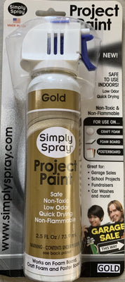 Gold Project Paint 2.5 oz