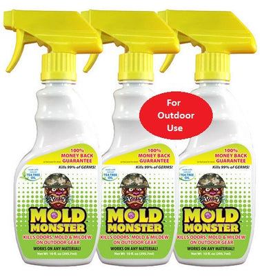 Mold Monster Outdoor Spray - 3 Pack (10oz each)