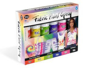 Party Kit- 6 can Soft Fabric Paint kit