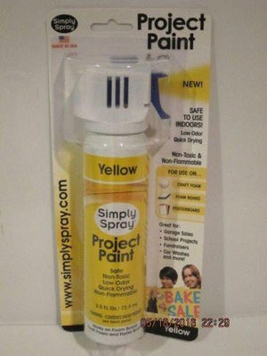 Yellow Project Paint - (2.5 oz Cans)