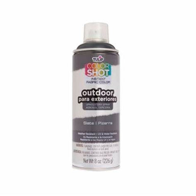 Color Shot Outdoor Slate ( Charcoal) Upholstery Spray (8 oz. cans)