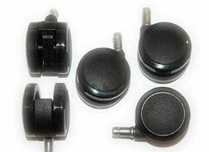 Herman Miller 2.5 inch Casters Set for Aeron Chair Set of 5