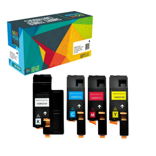 Xerox WorkCentre 6025 Hochleistungs Toner Set