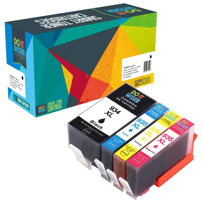 HP OfficeJet 6820 Hochleistungs Tinte Set