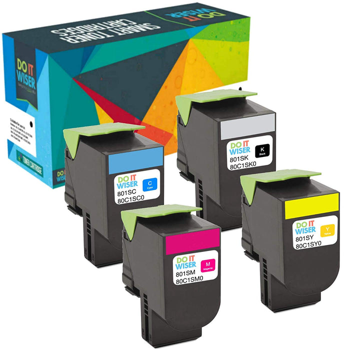 Lexmark CX410 Toner Set