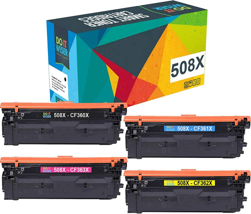 HP Color LaserJet M553n Hochleistungs Toner Set