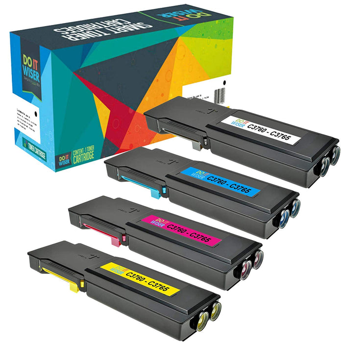 Dell C3765 Extra Hochleistungs Toner Set