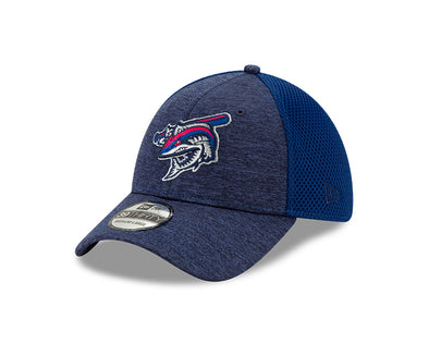 Pensacola Blue Wahoos Shadow Tech Flex Fit Cap
