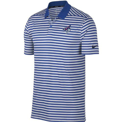 Pensacola Blue Wahoos Nike Striped Victory Golf Polo