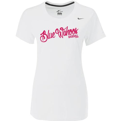 Pensacola Blue Wahoos Nike Women's White Legend