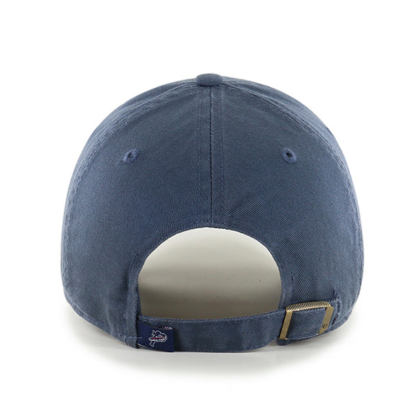 Pensacola Blue Wahoos Vintage Navy Clean Up Cap