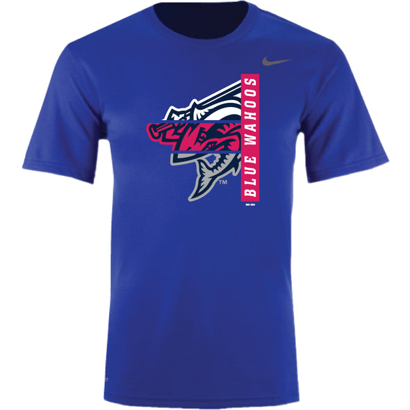 Pensacola Blue Wahoos Royal Legend Tee