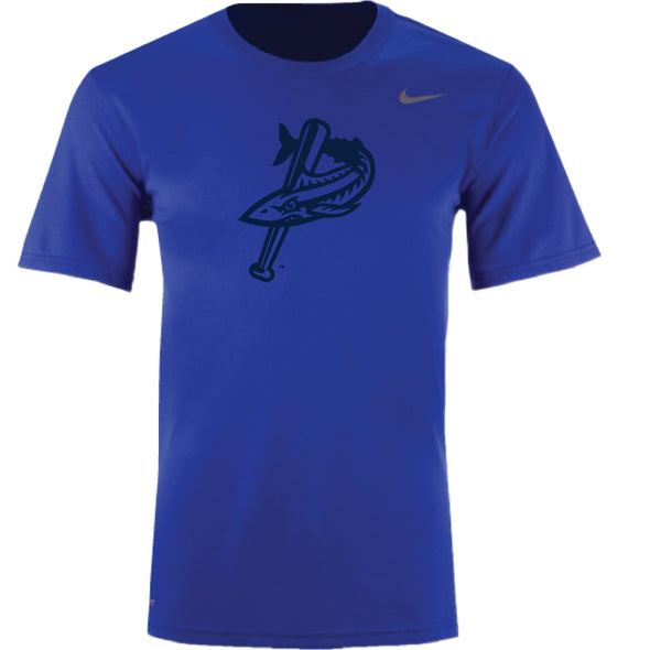 Pensacola Blue Wahoos Tonal Royal Legend Tee