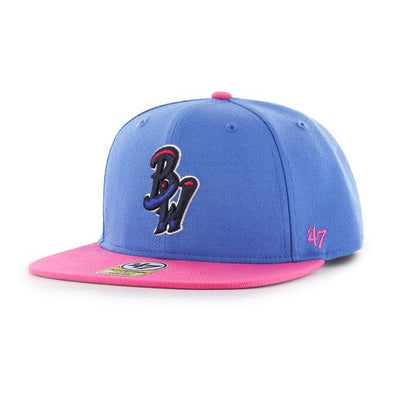 Pensacola Blue Wahoos 47 Lil Shot Youth Snapback