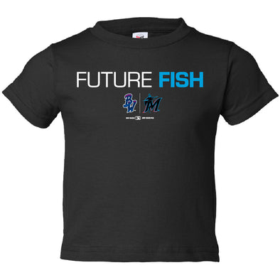 Pensacola Blue Wahoos Future Fish Toddler T-Shirt