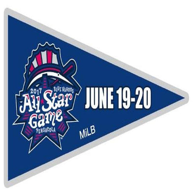 Pensacola Blue Wahoos All Star Pennant Pin