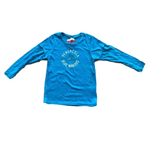 Pensacola Blue Wahoos Toddler Girls 2Fer Top