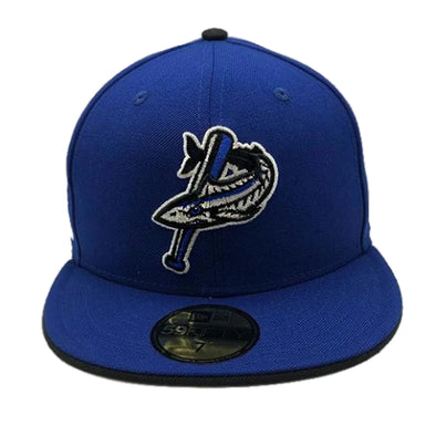 Pensacola Blue Wahoos New Era Patriot Series Cap Royal