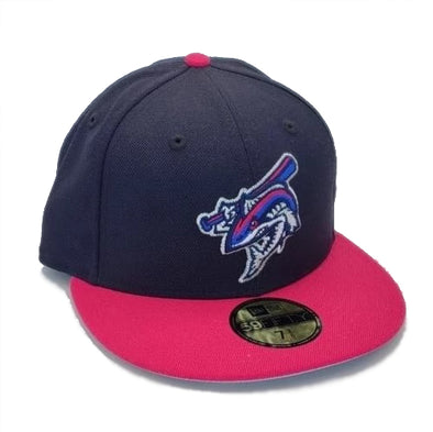 Pensacola Blue Wahoos New Era Bright Rose Fashion Cap