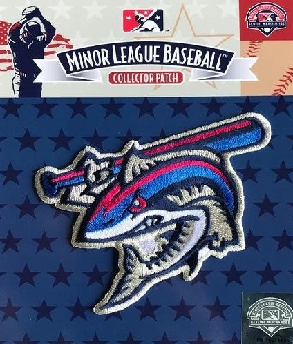 Pensacola Blue Wahoos Clobberfish Patch