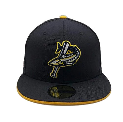 Pensacola Blue Wahoos New Era Patriot Series Cap Navy