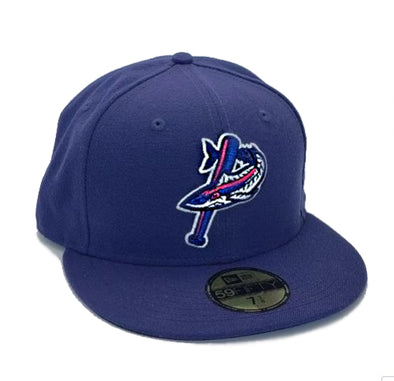 Pensacola Blue Wahoos Pensacola Blue Wahoos On-Field Fitted Cap by New Era