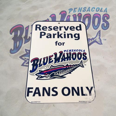 Pensacola Blue Wahoos Reserved Parking Blue Wahoos Fan