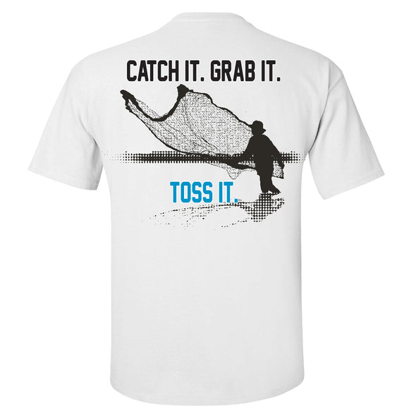 Pensacola Mullet Toss It Tee
