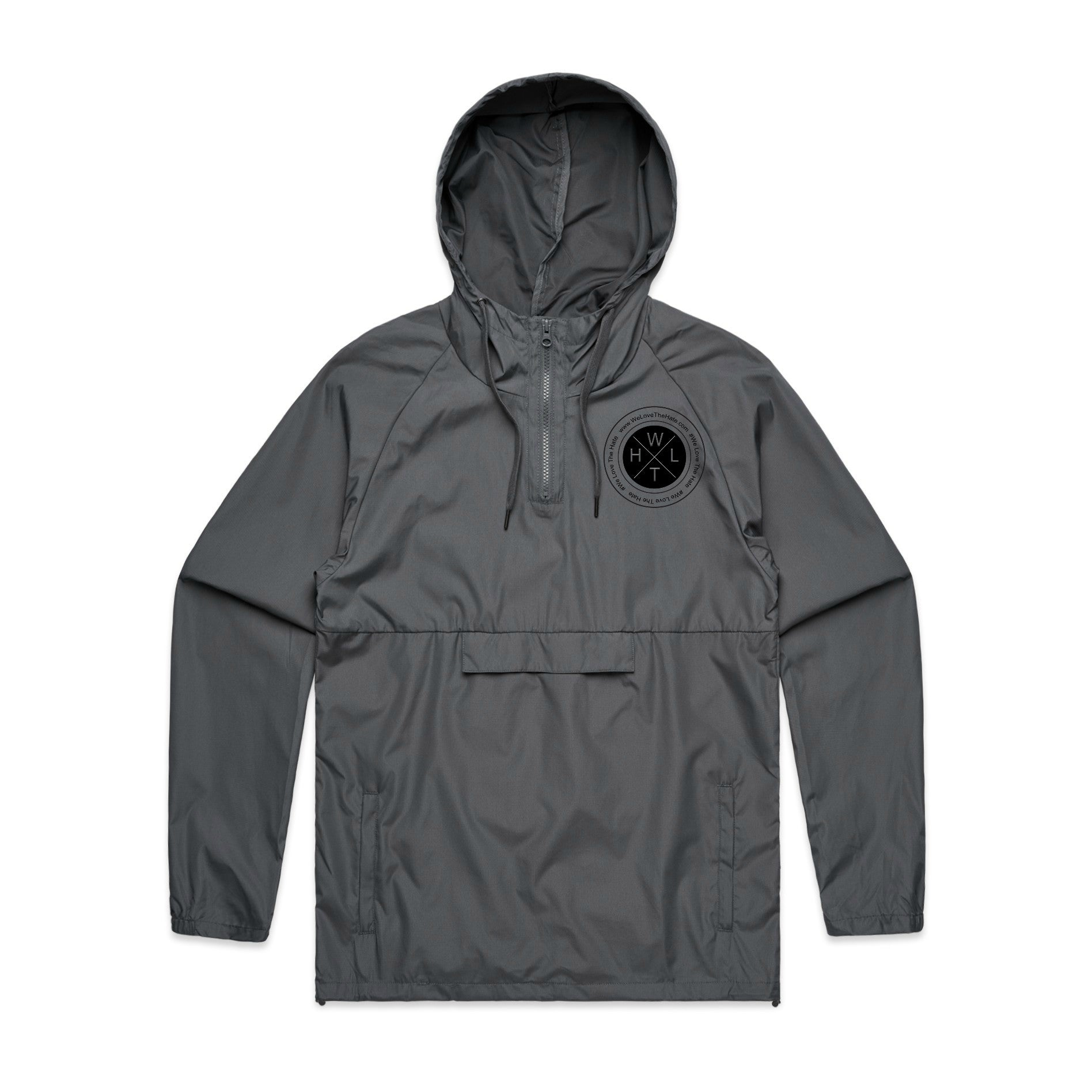 Charcoal Windbreaker