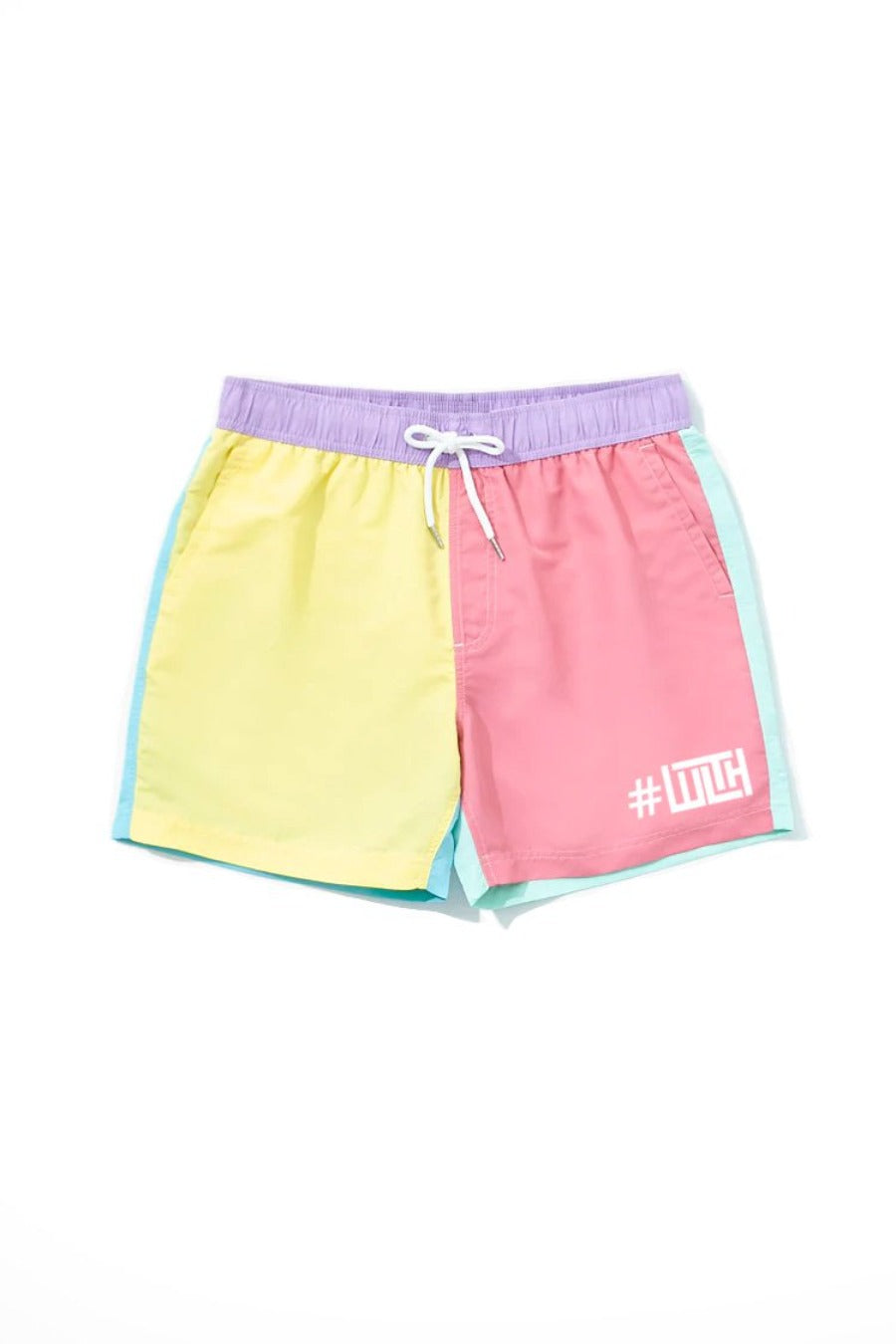 Multi-Color Pastel Shorts