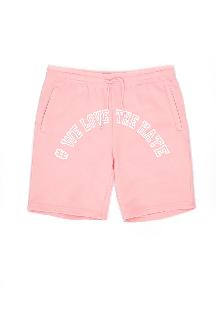 Pink Sweat Shorts