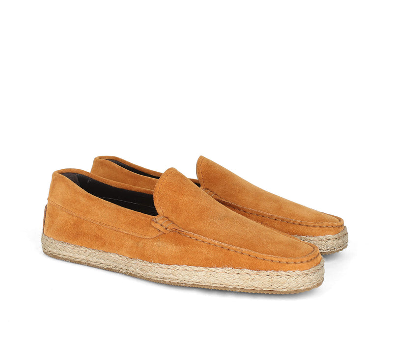 Orange Suede Seaside Loafer Aurélien