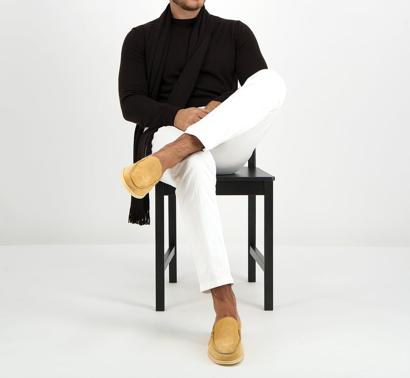 Tuscan Sun Suede Yacht Loafer