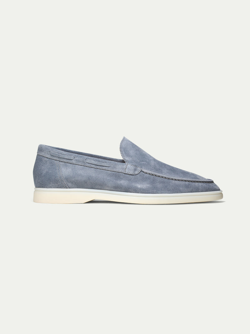 Light Blue Yacht Loafers Aurélien
