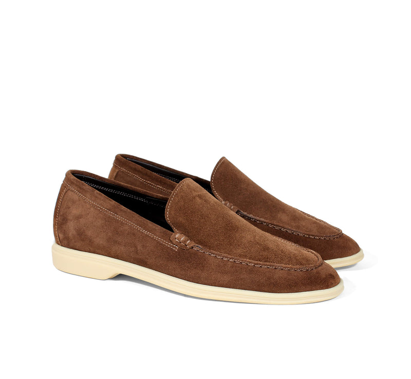 Caramel Suede Yacht Loafer