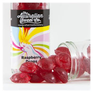 The Aus Sweet Co. Raspberry Drops