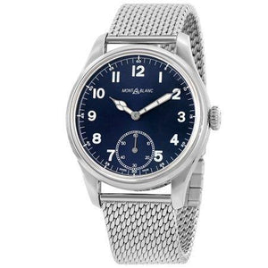 MONTBLANC 1858 BLUE DIAL 44MM STAINLESS STEEL