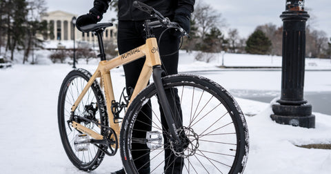 Normal Bicycles Wood Bicycle