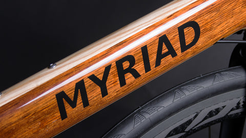 Krystian Lemkowski Myriad Bikes Wood Road Bike