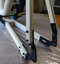 Load image into Gallery viewer, Maker Frame Wood Bicycle Frame Kit