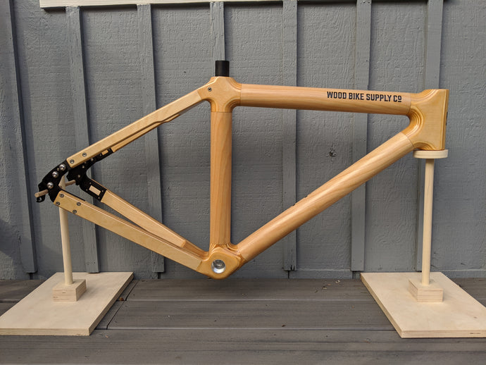 Maker Frame Wood Bicycle Frame Kit