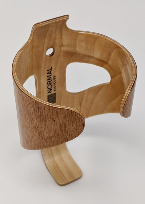 Cherry Wood Bottle Cage
