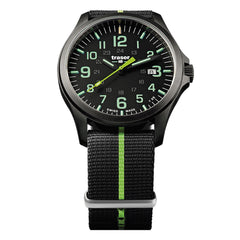 Traser P67 Officer Pro GunMetal Black / Lime Nato