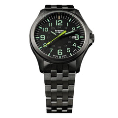 Traser P67 Officer Pro GunMetal Black / Lime