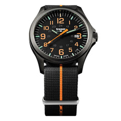 Traser P67 Officer Pro GunMetal Black / Orange Nato