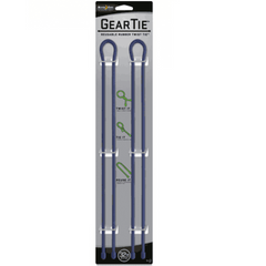 "Nite Ize Gear Tie 32"" DARK NAVY 2 pack box of 6"