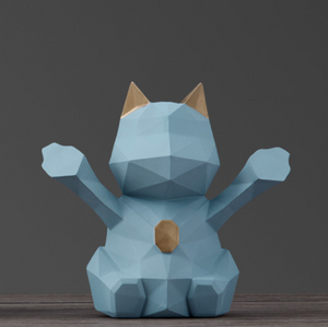 Cat Figurine Piggy Bank