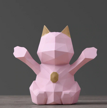 Load image into Gallery viewer, Cat Figurine Piggy Bank