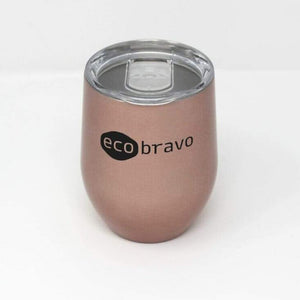 Reusable Coffee Cup Rose Gold