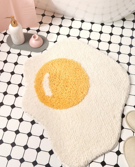 Egg Bath Mat Anti Slip